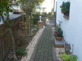 Seitenweg zum Garten