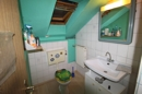 WC im Dachgeschoss