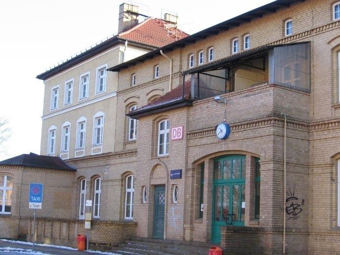 Ansicht vom Bahnhofsvorplatz