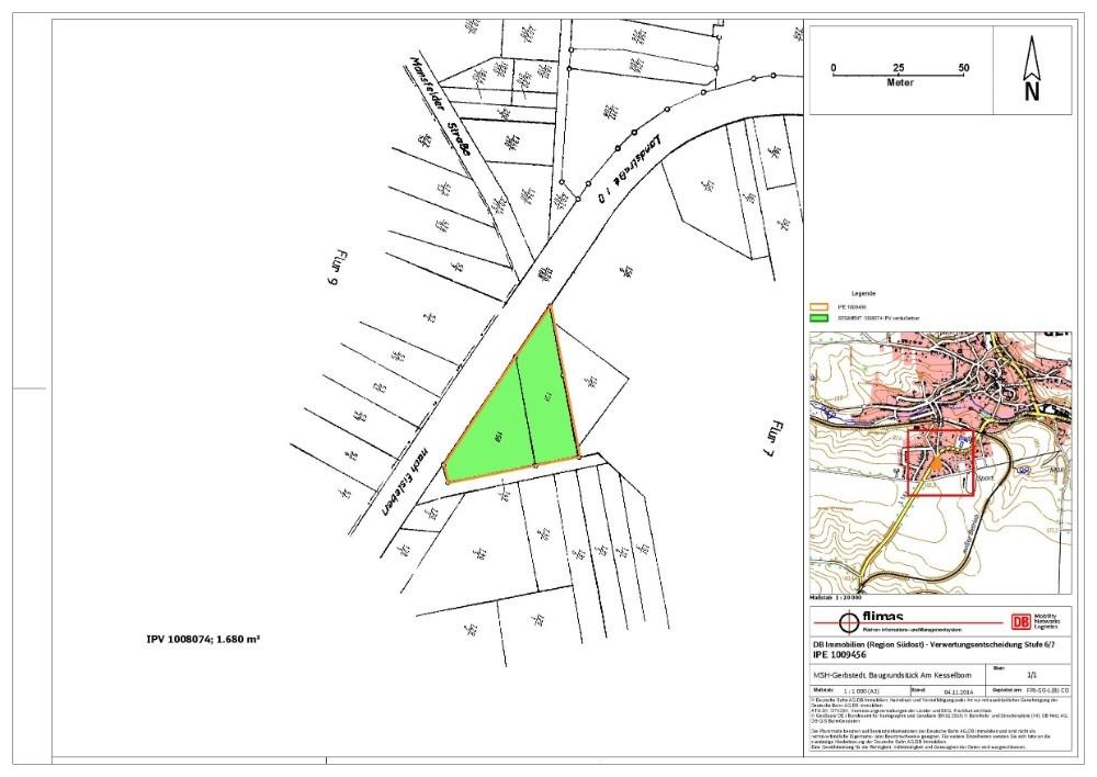MHL 2406 Gerbstedt Kesselborn Lageplan
