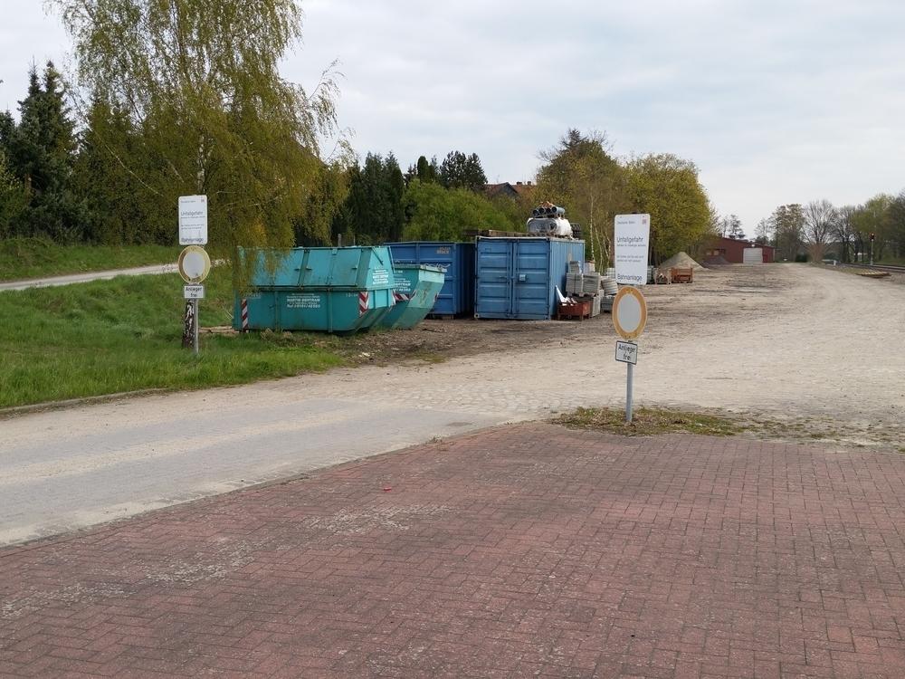 Zufahrt Poststraße