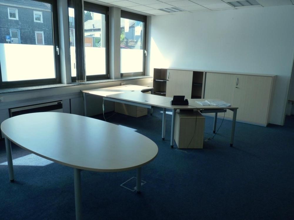 Musterbüro im Verwaltungsgebäude