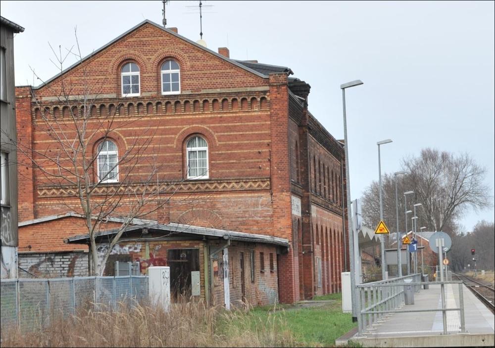 Spremberg-Bahnsteig