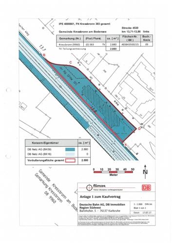 Lageplan Verkaufsfläche
