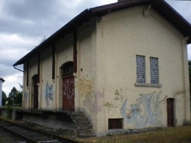 Ehemalige Güterhalle