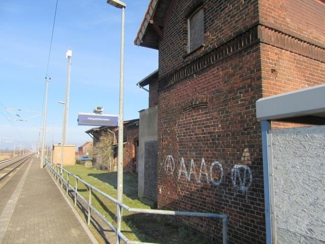 EG Bahnsteigseite