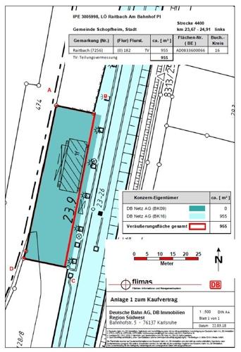 Lageplan Raitbach