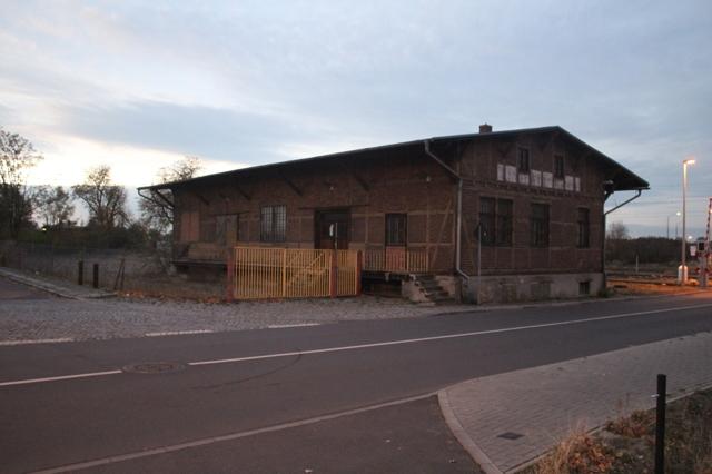 Lagergebäude Ansicht 1