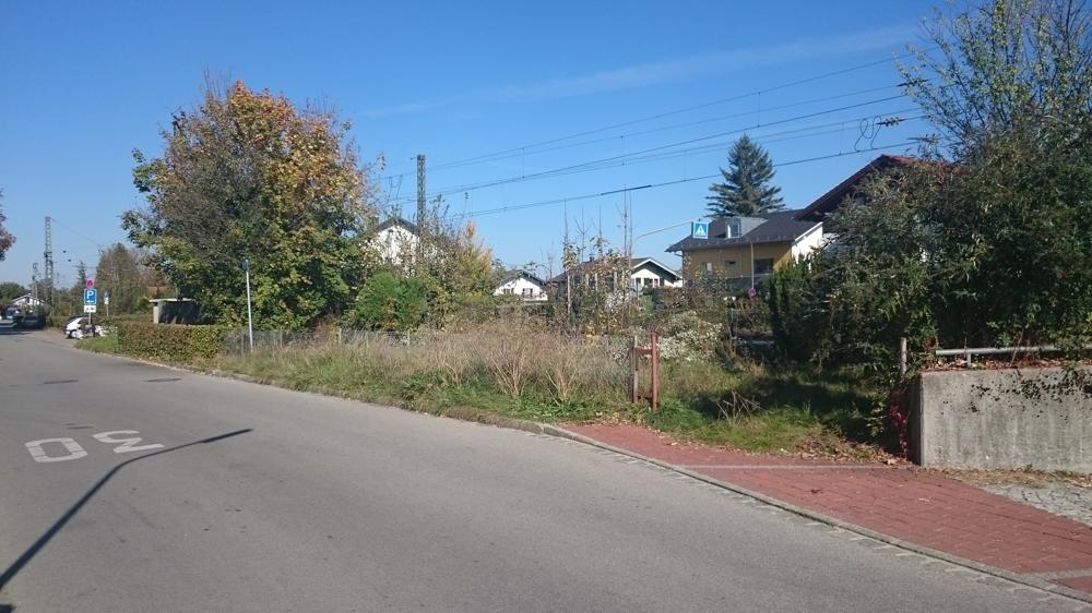 Zufahrt zum Grundstück