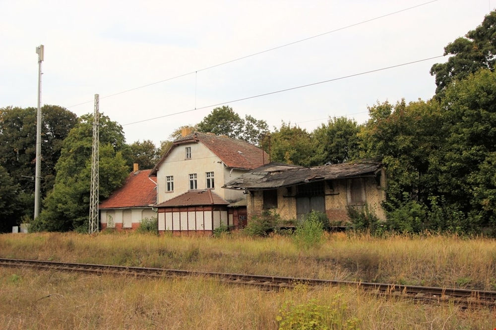14-Bhf Schönermark, Gleisseite