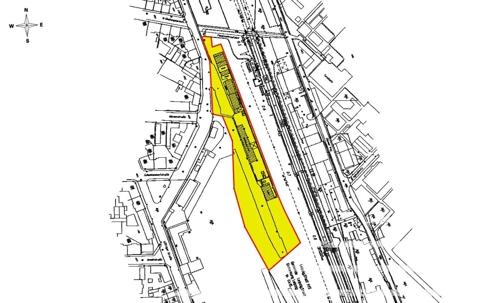 Flächenplan Bayrischer Bahnhof