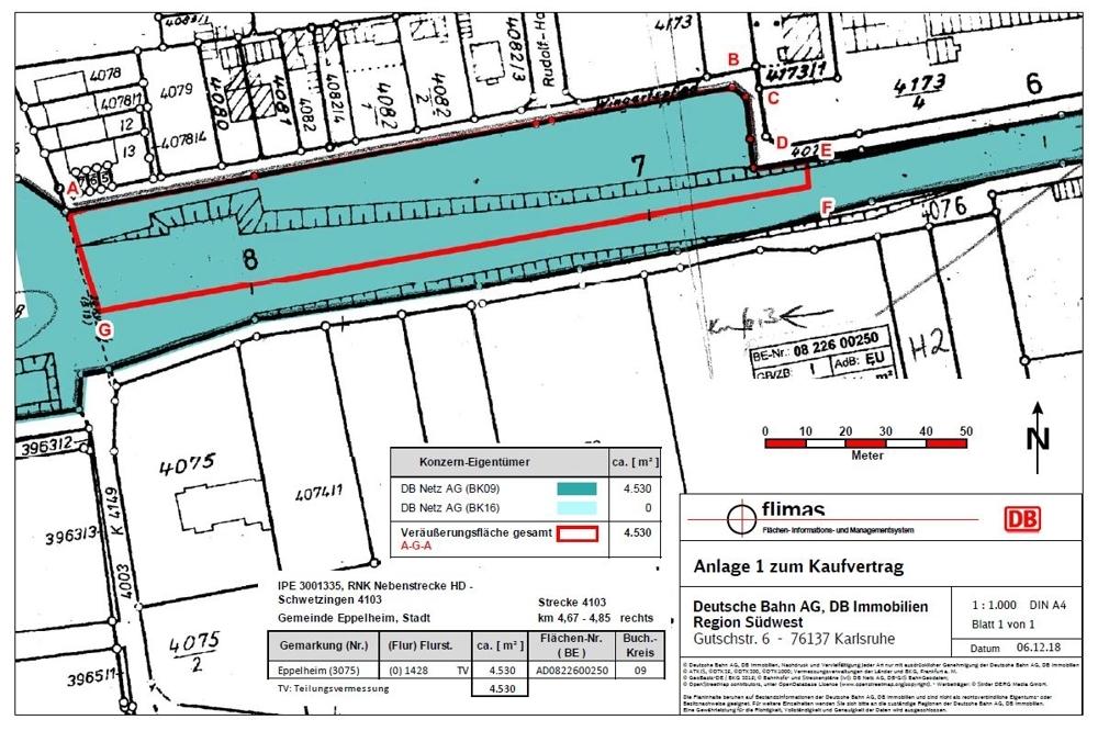 Lageplan Eppelheim