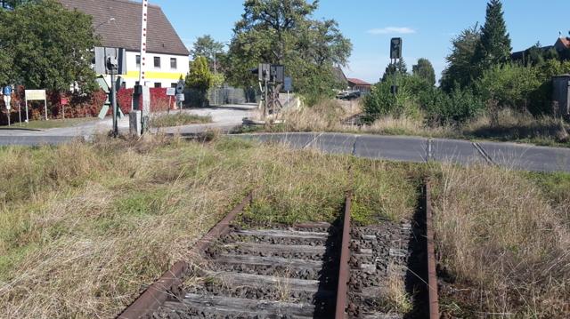 Großlangheim BÜ