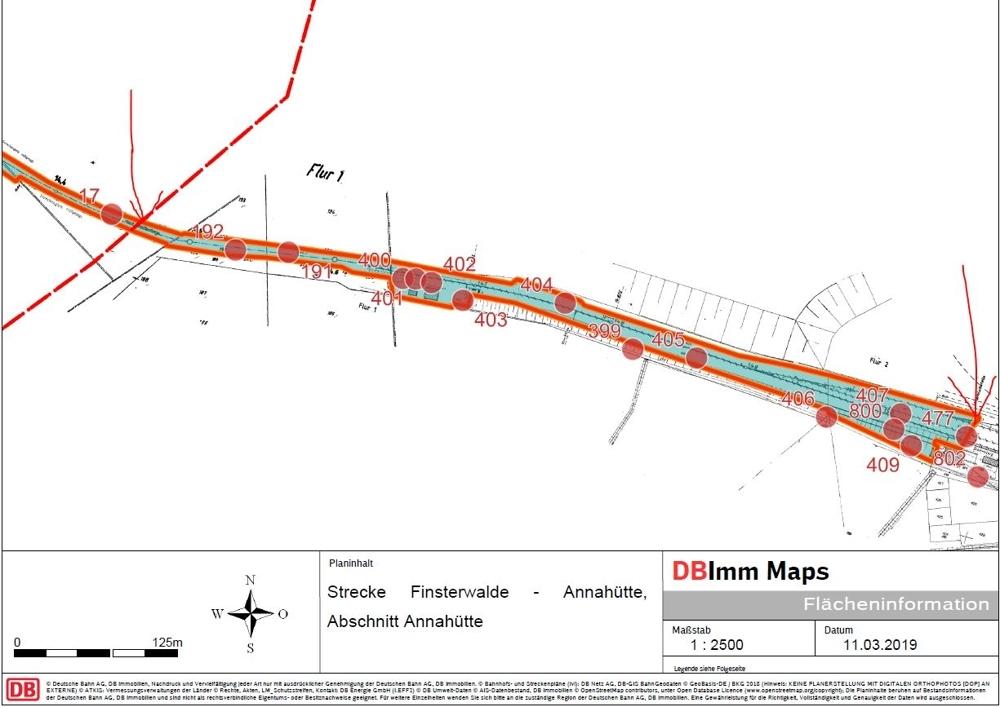 Plan Flächen Annahütte