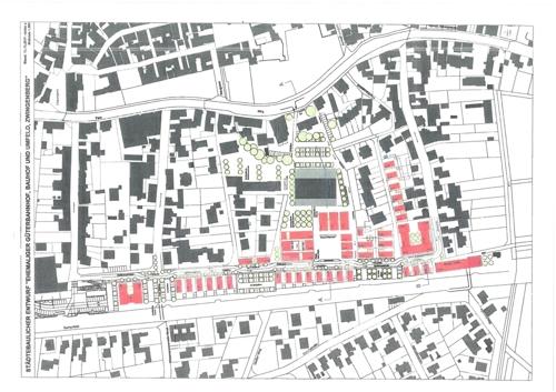Entwurfsplan Stadt Zwingenberg