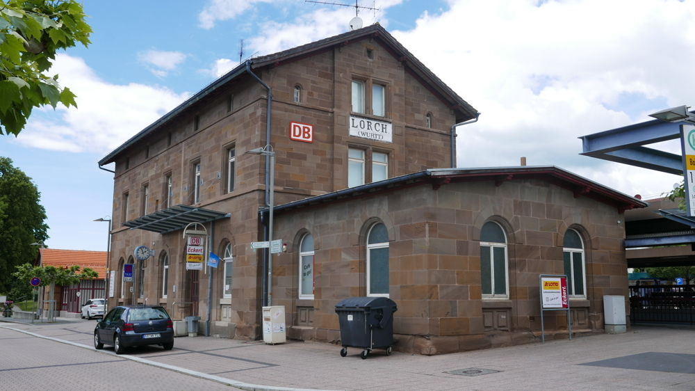 Bahnhof in Lorch