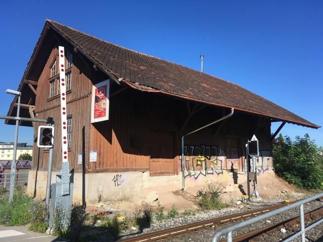 Güterhalle in Pfäffingen
