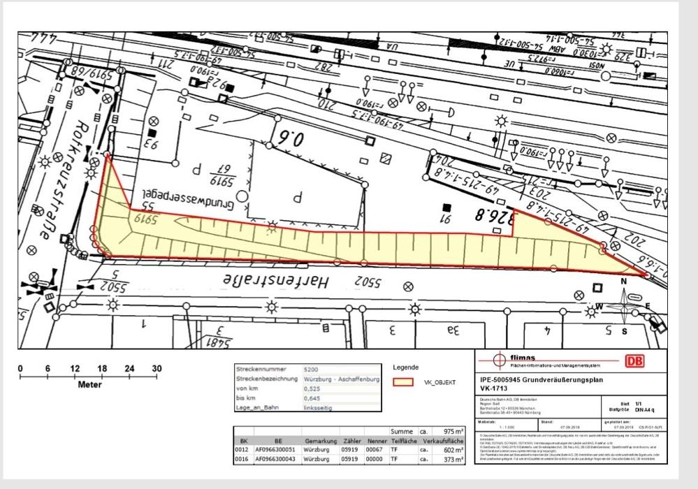 Plan_Würzburg  Harfenstraße