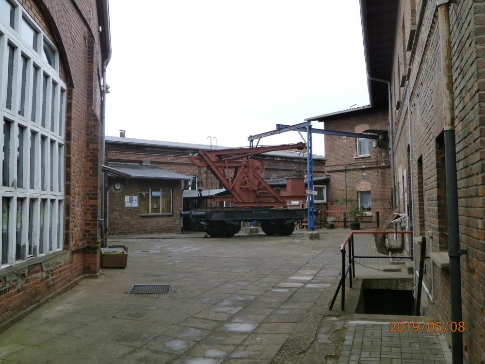 Gebäudekomplex des ehem. Bahnbetriebswerkes Arnstadt