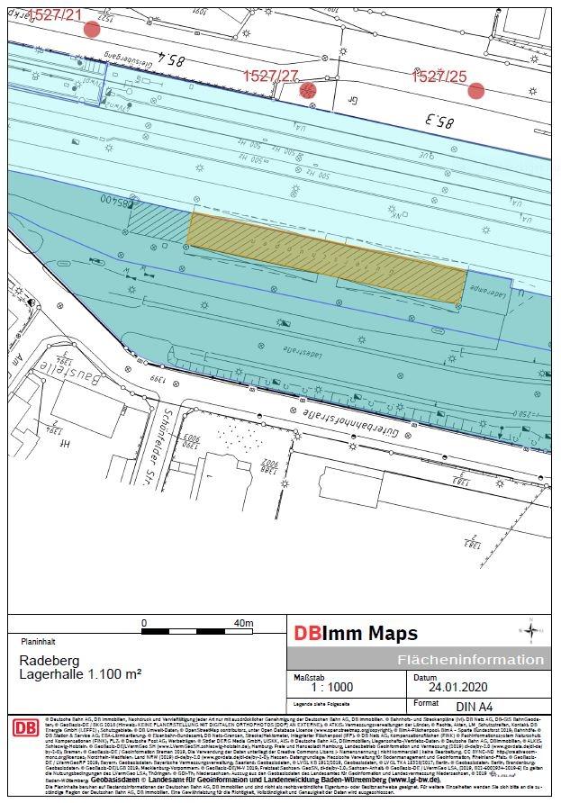 Radeberg Güterschuppen  Lageplan 03_20