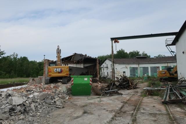 Kamenz Abriss Gebäude