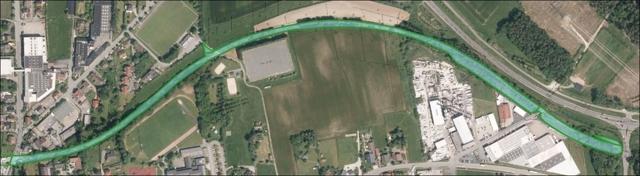 Luftbild östliche Teilfläche