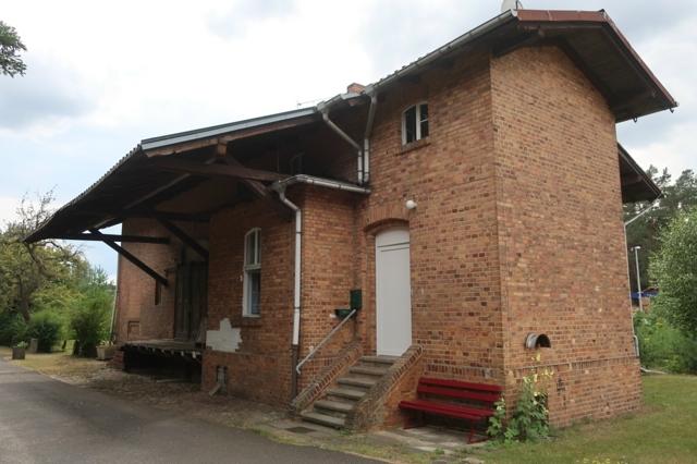Brand Güterschuppen-Wohnhaus