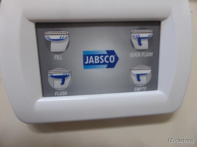 Bedienfeld für elektrische Toilette