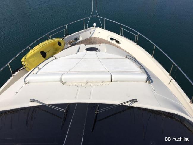 Dominator 68S 2008 HG Vorschiff