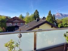 Ausblick von der Dachterrasse