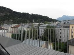 Aussicht v Balkon