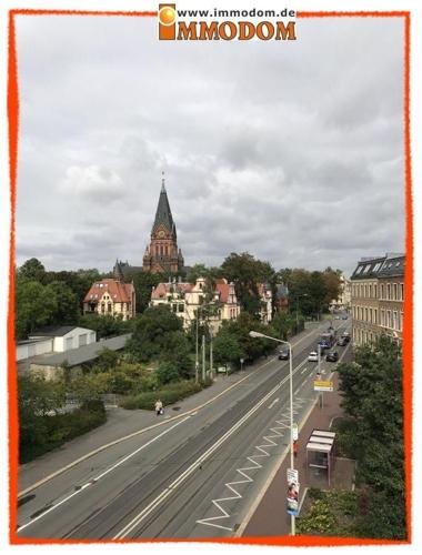 Blick zur Moritzkirche