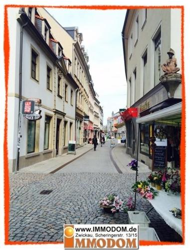 Blick in die Innere Plauensche Straße