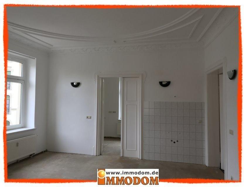 Zimmer 1 mit Blick ins Zimmer 3