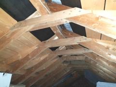 Dach Unterseite