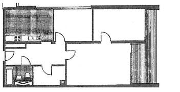 Grundriss 3 Zimmer