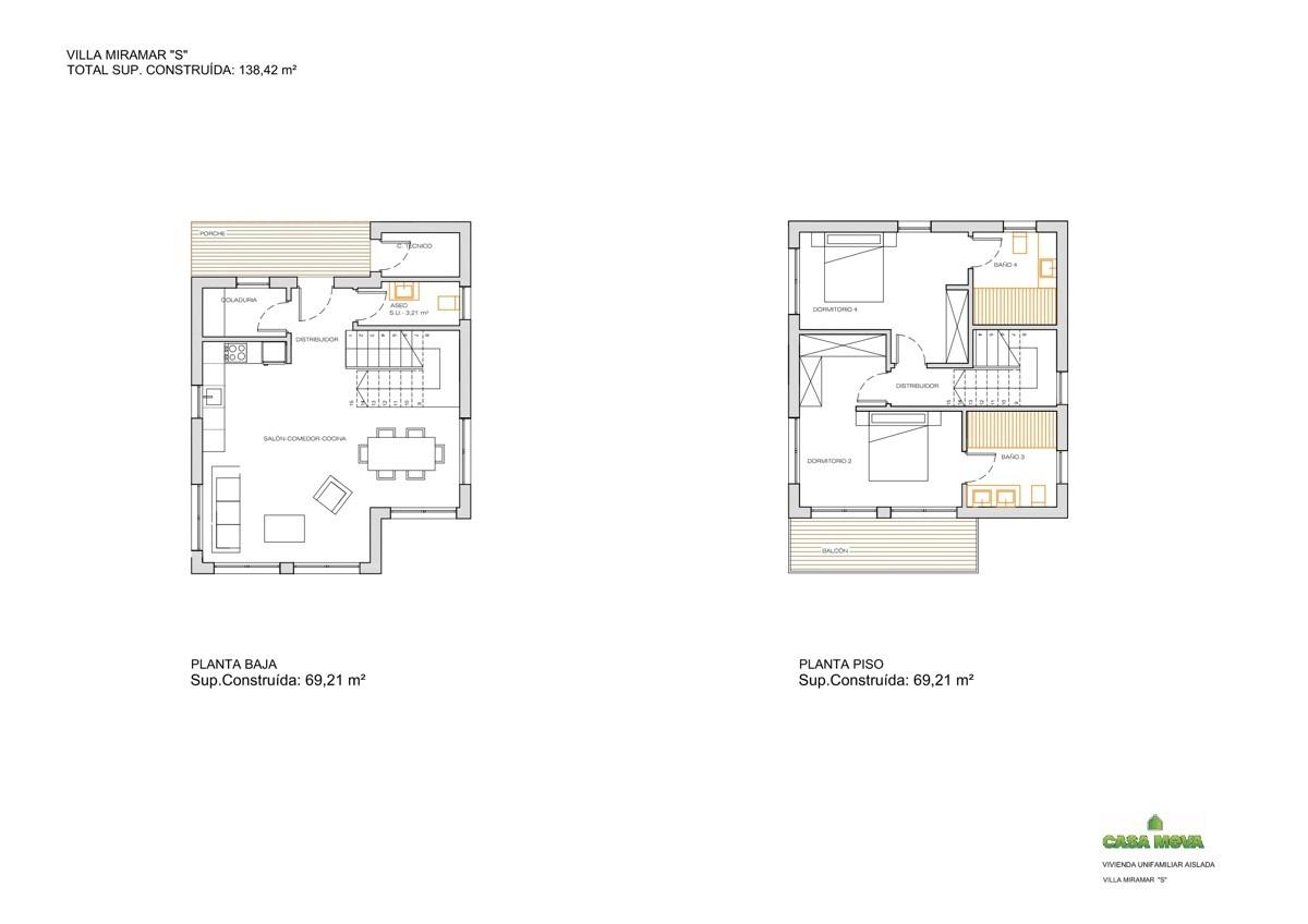 Villa in Strandnähe: Neubau in toller Lage in C'an PicafortCASA MIRAMAR