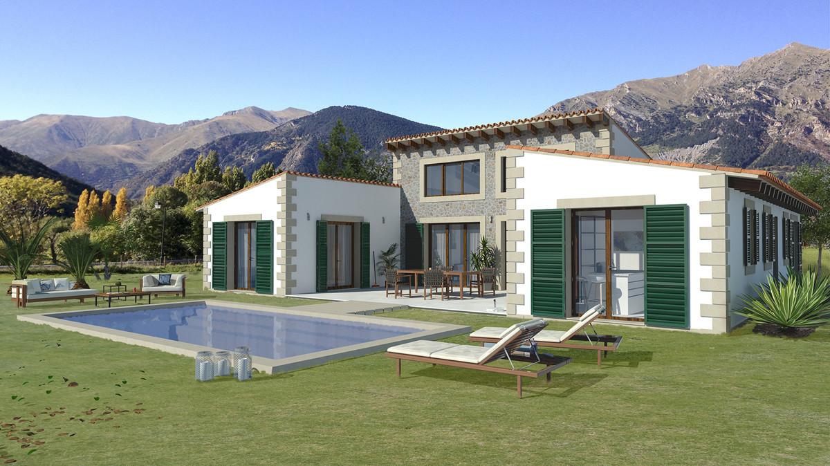Landhaus in Traumlage: Rustikale Finca im Südosten MallorcasCASA CARMINA