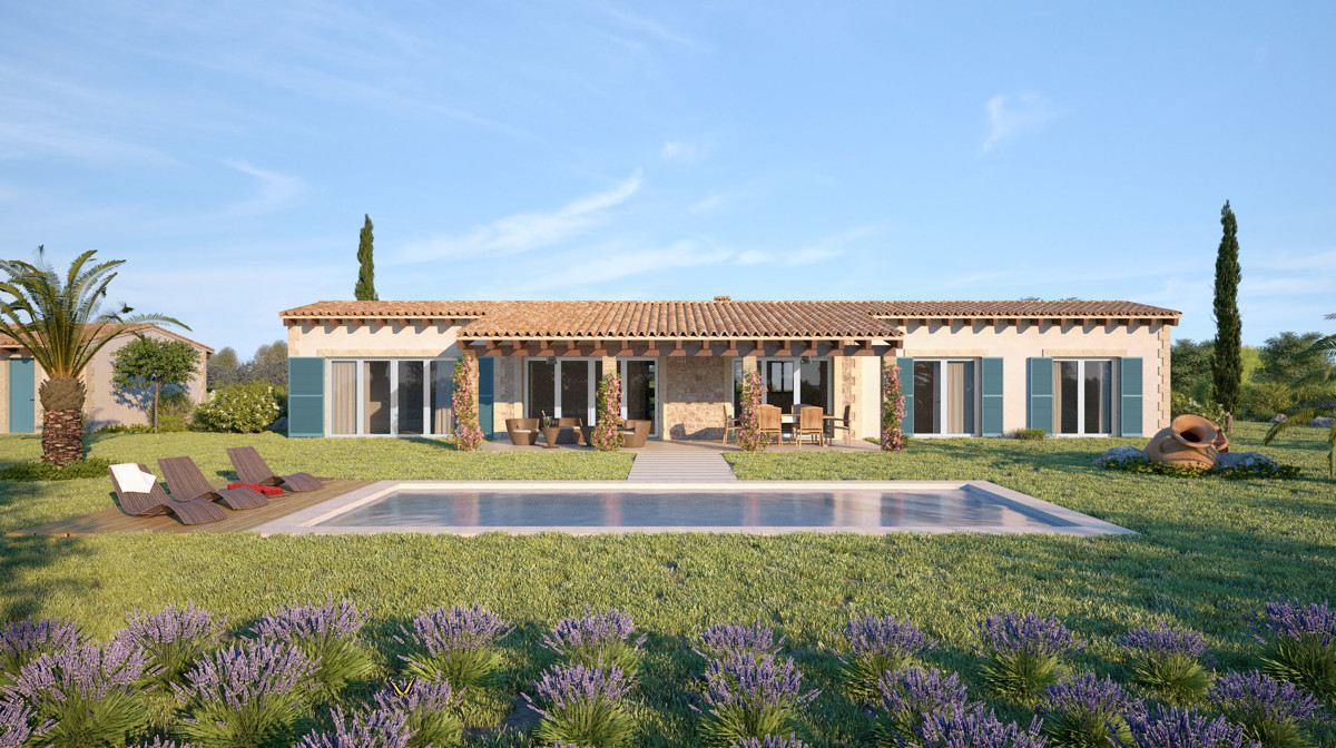 Finca in Traumlage: Charmantes Landhaus im Südosten MallorcasCASA SONIA