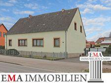 Doppelhaushälfte mit Gewerbe in Neuruppin