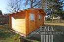 Gerätehaus aus Holz ...