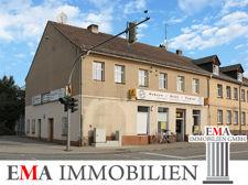 Mehrfamilienhaus mit Gewerbe in Trebbin..