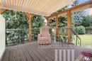 Terrasse mit Sichtschutz und Markiese
