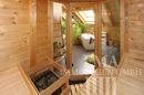 Blick von der Sauna