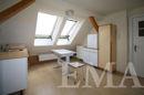 Anschlüsse für eine Küche im Dachgeschoss