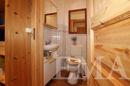Gäste-WC im Dachgeschoss