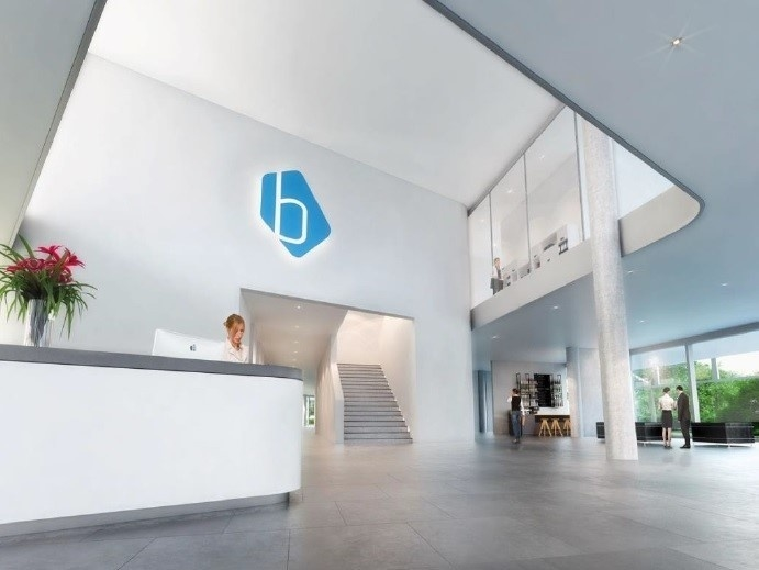 Lobby Blue Tower