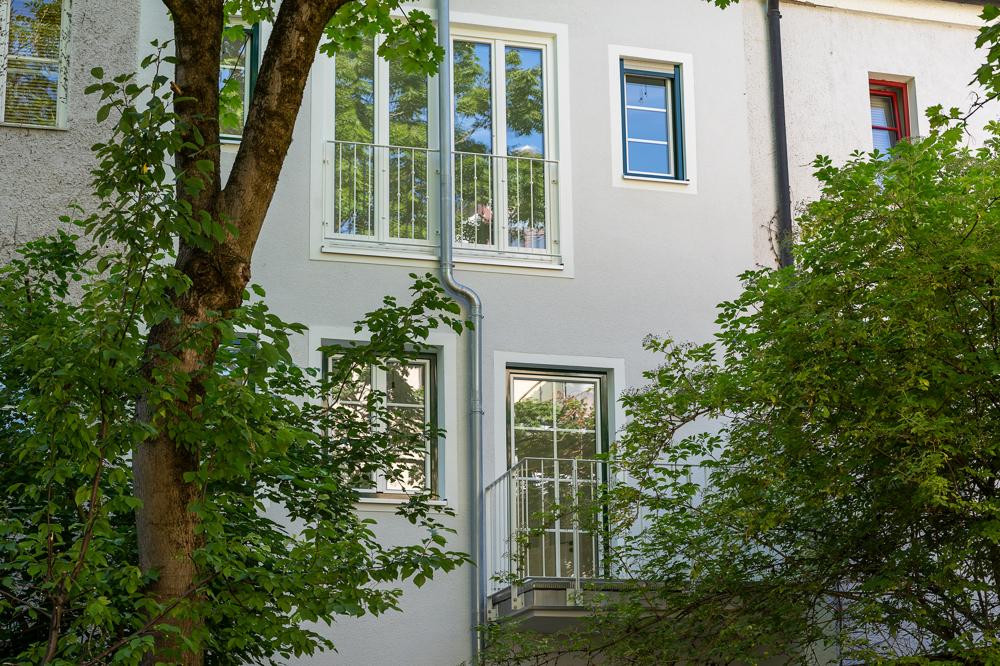 Balkon u Fenster Schlafzimmer
