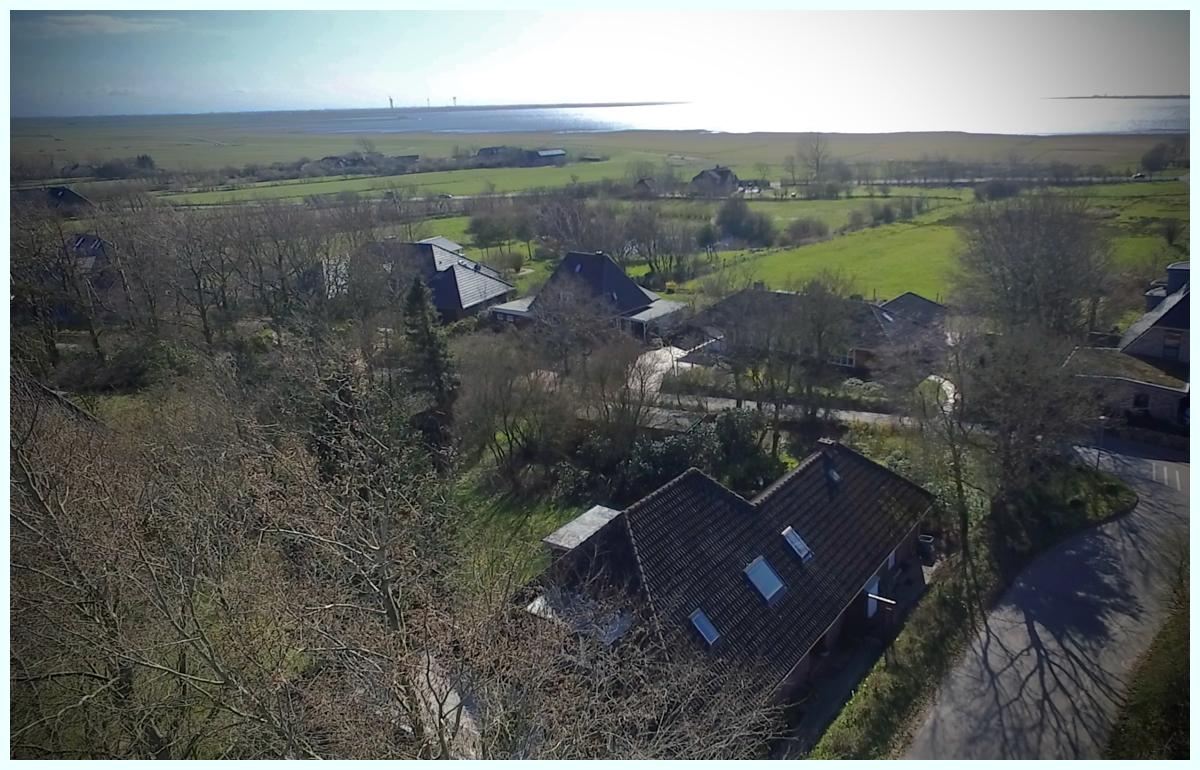 Luftbild Husumer Bucht