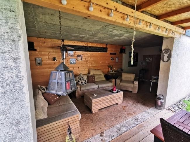 Privat Lounge-Ecke